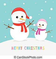 testo, snowmen, natale, allegro