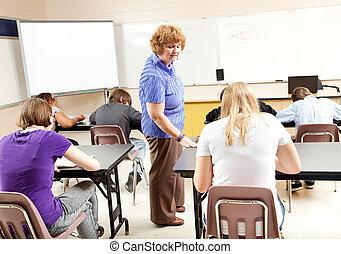 teszt, alatt, algebra, osztály