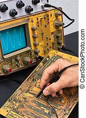 teszt, elektronikus