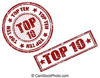 tető, 10