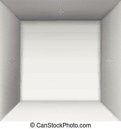 tető, doboz, nézet.