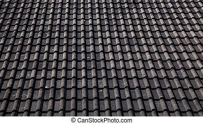 tető, háttér, struktúra