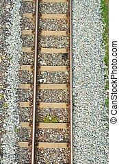 tető, vasút, kilátás