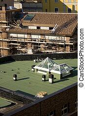 tetőszerkezet, waterproofing