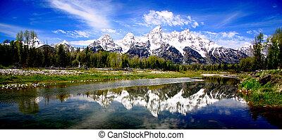 Teton Range - Grand Teton National Park,Wyoming
