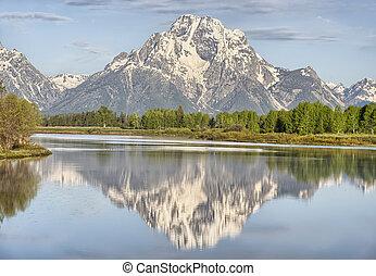 Teton Reflection, Grand Teton National Park