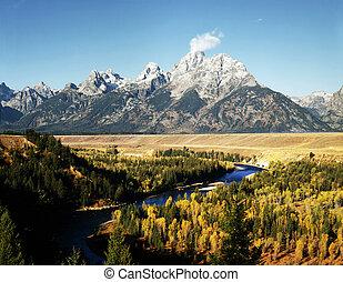 teton,  Wyoming, Grandiose