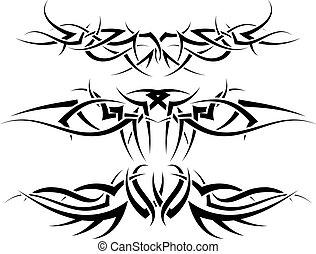 tetovál, állhatatos