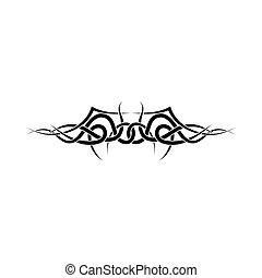 tetovál, törzsi
