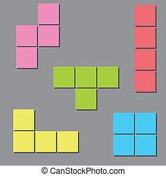 tetris achtergrond - Tetris Planken