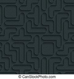 tetris, seamless, mønster