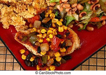 Tex Mex Chicken Dinner