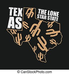 texas apparel print