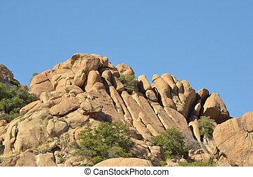 Texas Canyon Rocks