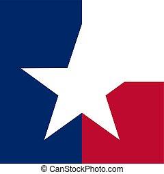 texas concept flag