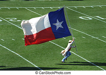 Texas Flag - Run the Texas flag