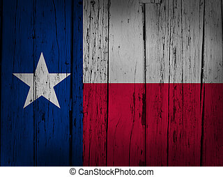 Texas Grunge Background - Texas state grunge background with...