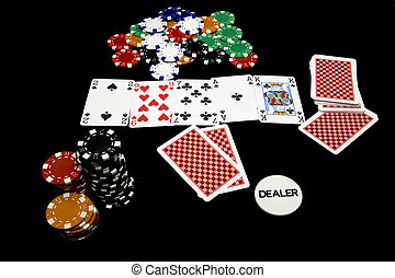 Texas holdem hand, casino