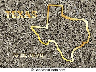Texas in Stone