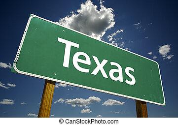 texas, sinal estrada