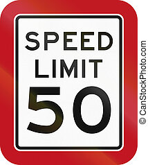 Texas Speed Limit Sign - United States Texas speed limit...