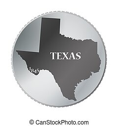 Texas State Coin