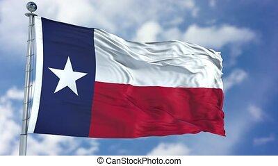 Texas Waving Flag