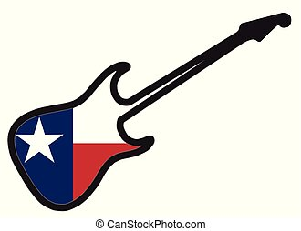 texasi, gitár, elektromos