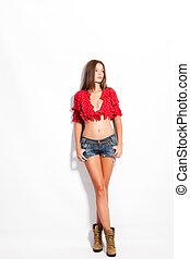 texasky, krátké kalhoty