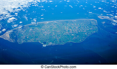 Texel viewed from above.