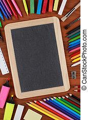 text, äga, din, chalkboard, utrymme
