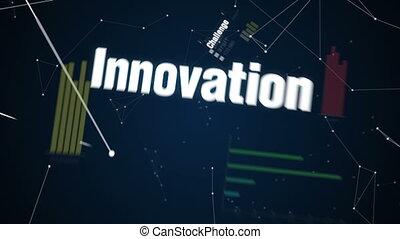 Text animation 'Success' 2. - Leadership, Innovation,...