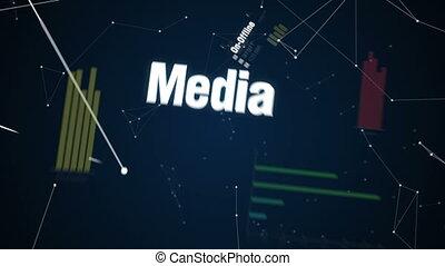Text animation'CUSTOMER ENGAGEMENT' - On-Offline, Media,...