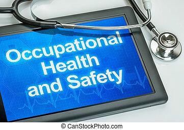 text, beruflich, sicherheit, gesundheit, tablette