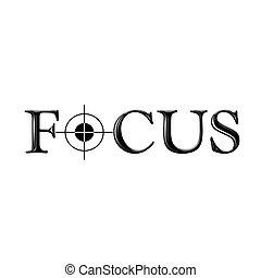 text, brev, nolla, fokusera, stylized