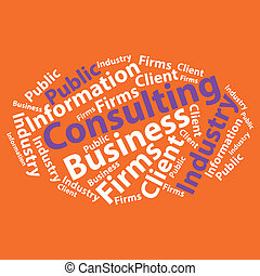 Text cloud. Business wordcloud. Typography concept. Vector illustration.