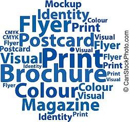Text cloud. Design wordcloud. Typography concept. Vector illustration.