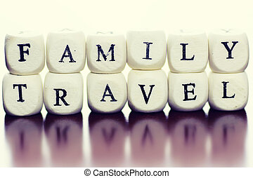 text cube travel family