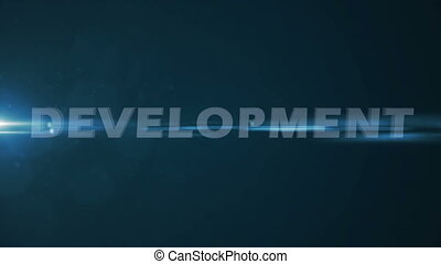 """text """"Development, Learning, Researching, Brainstorming,..."""