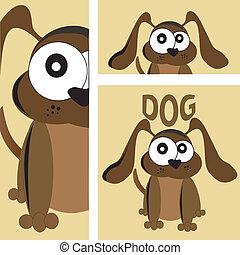 text dog