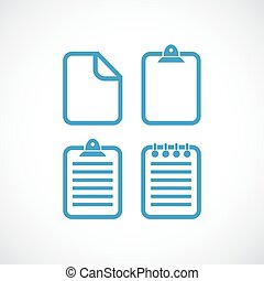 Text file document vector icon