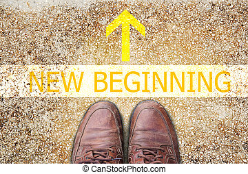 Text for NEW BEGINNING