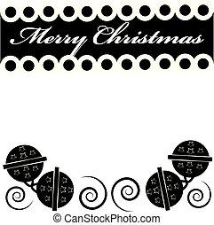 text, -, fröhlich, jingle, weihnachtsglocken