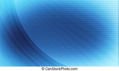 Text Friendly Blue Backdrop Loop