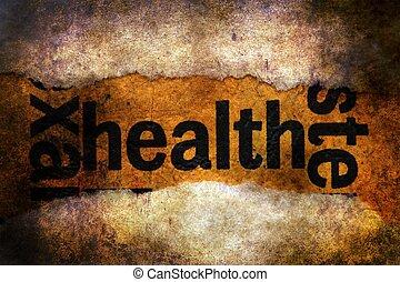 text, gesundheit, grunge, hintergrund