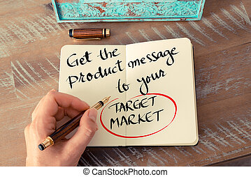 Text Get The Product Message To Your Target Market