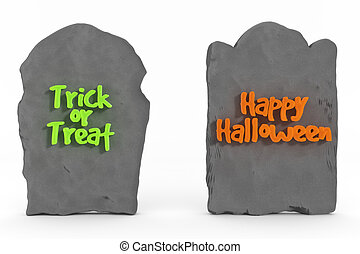 text, halloween, gravestones