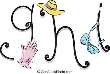 Girly Alphabet