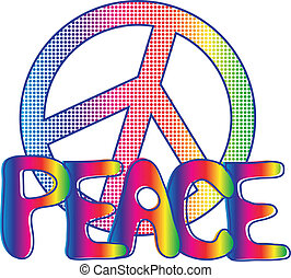 text, mír poznamenat