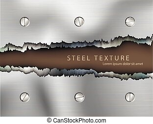 text, mall, bakgrund, metall